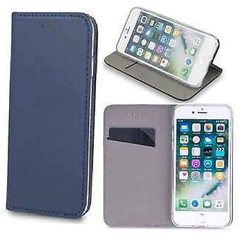 Samsung Galaxy A41 - Smart Magnetic Mobilplånbok - Marinblå