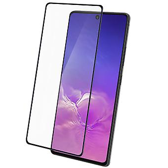 4Smarts Galaxy S10 lite Tempered Glass clear Shockproof Screen protector - Black