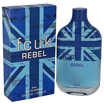 Fcuk Rebel Eau De Toilette Spray By French Connection 3.4 oz Eau De Toilette Spray