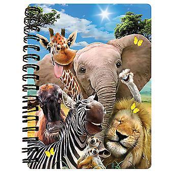 Howard Robinson Selfie Africa Prime 3D A6 Notebook
