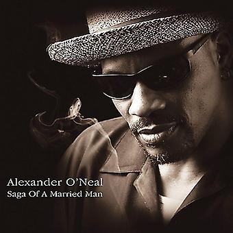 Alexander O'Neal - Saga of a Married Man [CD] USA import