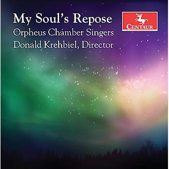 Biebl / Orpheus Chamber Singers / Garza - My Soul's Repose [CD] USA import