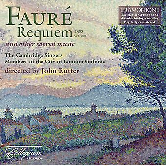 G. Faure - Faur : Requiem and Other Sacred Music [CD] USA import