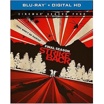 Strike Back: Fjärde säsong [Blu-ray] USA import
