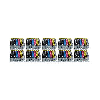 RudyTwos 10x Replacement for Canon PGI-570 CLI-571 Set Ink Unit Black Cyan Magenta Yellow & Grey Compatible with PIXMA MG5750, TS5050, MG5751, MG5752, MG5753, MG6850, MG6851, MG6852, MG6853, TS5051, T