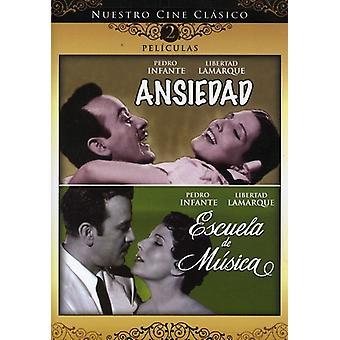 Ansiedad/Escuela De Musica [DVD] USA tuonti