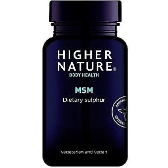 Comprimidos vegetarianos MSM de natureza superior 180 (MSM180)
