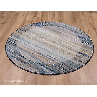 Tapis de cercle bleu de Fabricano