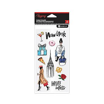Hampton Art New York Clear Stamps
