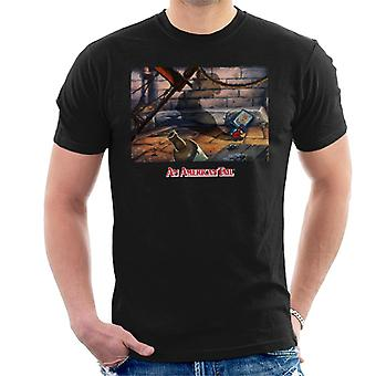 Una cola americana Fievels Shadow Men's Camiseta