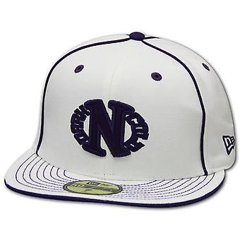 Darkncold X New Era 59FIFTY Egg Logo fitted Cap White Purple