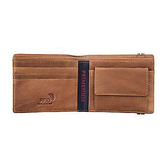 Primehide Mens Leather Wallet RFID Blocking Gents Notecase Card Holder 4810