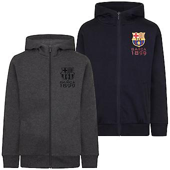FC Barcelona virallinen jalkapallo lahja pojat fleece zip huppari