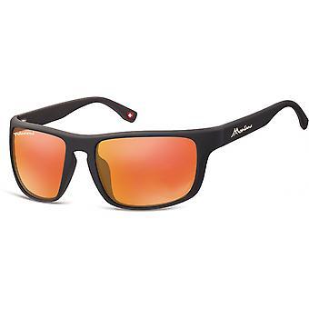 Aurinkolasit Unisex Cat.3 matta musta/oranssi (SP314D)