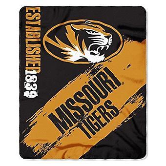 Missouri Tigers NCAA Northwest Fleece Throw
