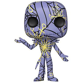 Nightmare Before Christmas Jack Art Ppl & Ylw Pop w/ Protect
