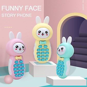 Baby Learning Laptop Toy For Early Education - Cartoon Mobile Phone Telephone Cellphone Baby Toys