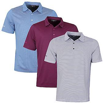 Glenmuir Mens Torrance 4-Way Stretch UV Moisture Wicking Golf Polo Shirt