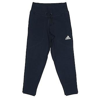 Girl's adidas Junior VRCT Tracksuit Bottoms in Blue