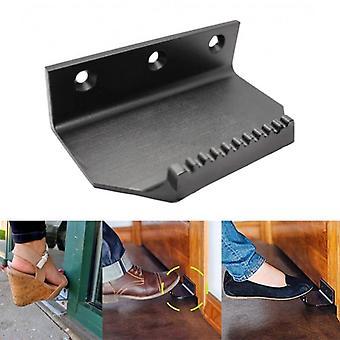 Abridor de puerta sin contacto, mango de pie de acero inoxidable