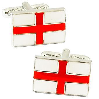 Δεσμοί Πλανήτης Αγγλία Σημαία Αγίου Γεωργίου's Σταυρός Μανικετόκουμπα