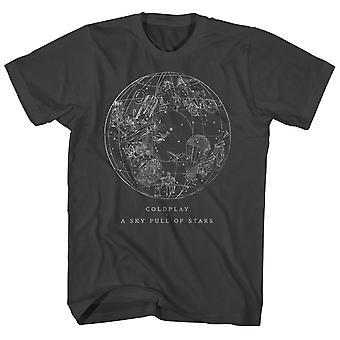 Coldplay T Shirt Himmel voller Sterne Coldplay Shirt