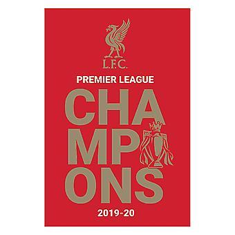 リバプールFC、マキシポスター - チャンピオンズ 2019-20 ロゴ