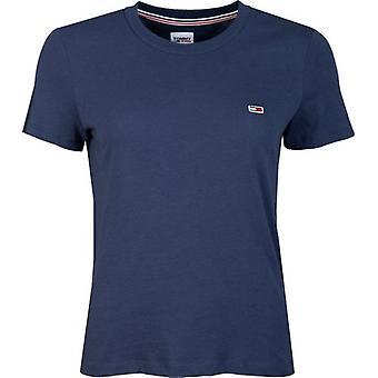 Tommy Jeans Regelbunden Jersey Crew Neck T-shirt