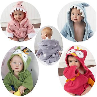 Kinder Pyjamas mit Cartoon gedruckt, Sleepwear Baby Bademantel