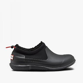 Hunter Original Sherpa Ladies Rubber Shoes Black