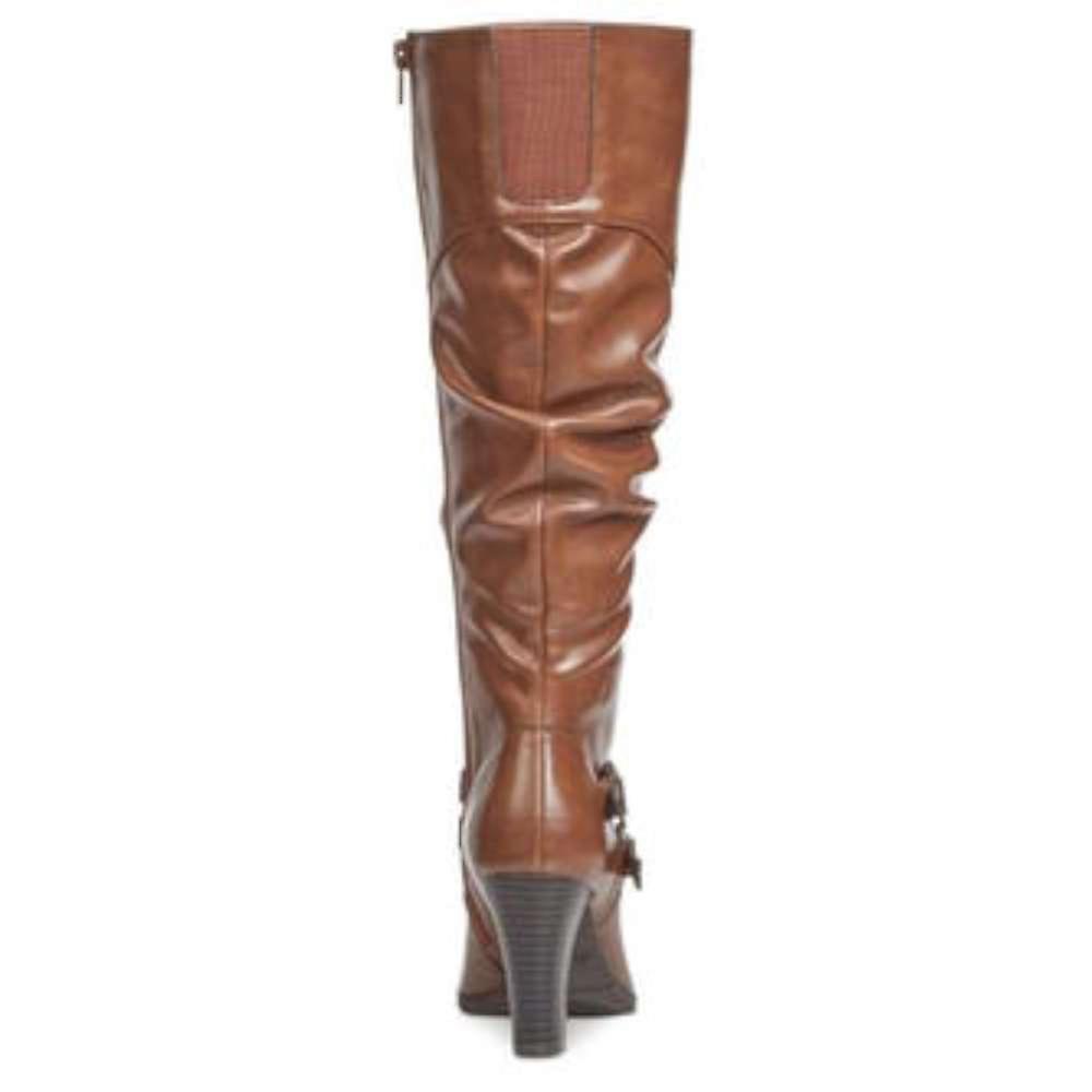 Style & Co. Womens Sana Cap Toe Mid-Calf Riding Boots