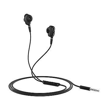 HOCO M62 3.5mm In-ear Stereo Earphone Dual Drive Headphones