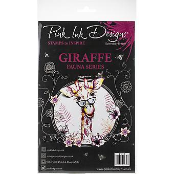 Pink Ink Designs Clear Stamp Giraffe A5