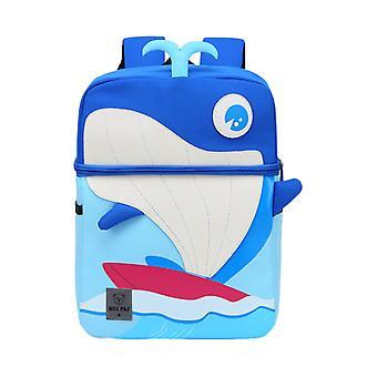 Cute Children Cartoon Backpack Whale