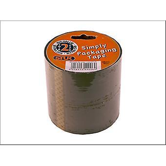 STUK Simple Packaging Tape Brown 48mm x 40m x 2 SPT2R