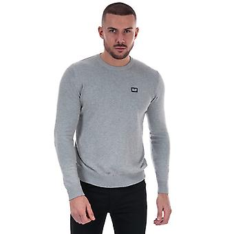 Men's Weekend Offender Silver Cotton Knit in Grey