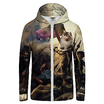 Pan GUGU & Miss GO Cat Revolution Bluza z kapturem Kangaroo Zip Up