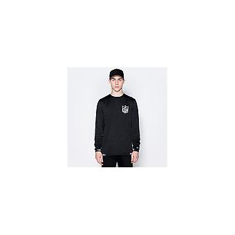 New Era Nfl Logo Engineered Long Sleeve T-shirt