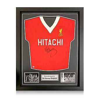 Kenny Dalglish signerte Liverpool Football Shirt 1978. Standard ramme