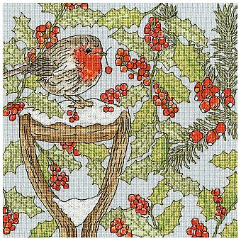 Bothy Threads Cross Stitch Kit - Joulupuutarha