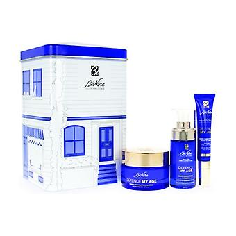 Defense My Age Gift Box Renewing serum (30 ml) + Renewing cream (50 ml) + Eye and lip serum (15 ml)