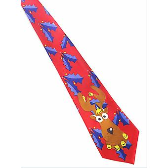 Printed Christmas Tie ,novelty Necktie For Festival