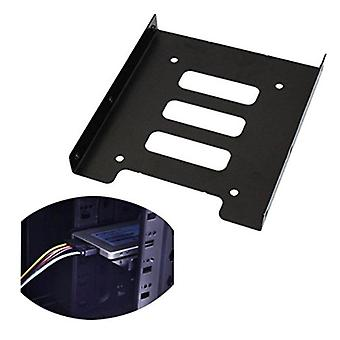 2.5 Drive To 3.5 Inch Ssd Hdd Hard Disk Metal Mounting Adapter Bracket Dock
