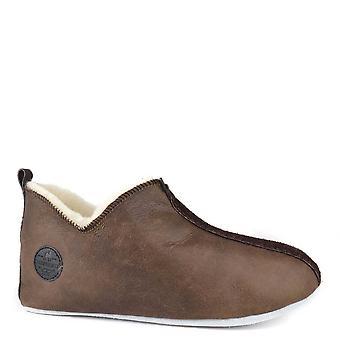 Shepherd of Sweden Men's Henrik Antique Oiled Slipper Boot