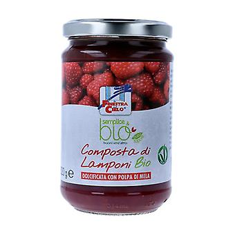 Simple & organic raspberry compote (with apple pulp) 320 g