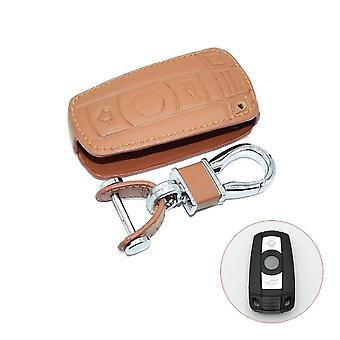 Læder bil nøgle sag for Bmw