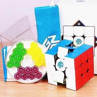 Cube magnétique de puzzle de Gan de vitesse magique