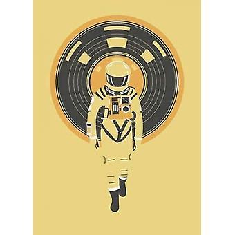 DJ Hal plakat Print af Robert Farkas