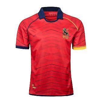 Espana Rugby Jersey Spanisch Sport Shirt