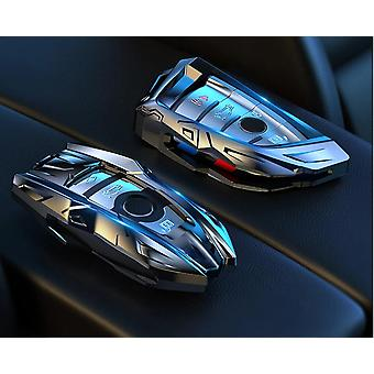 Zinc Alloy Car Key Case Cover Voor Bmw X1 X3 X5 X6 Serie E53 E70 E39 F10 F30